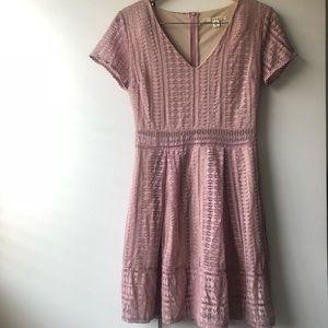 Dresses & Skirts - Blush Pink Lace Summer Dress